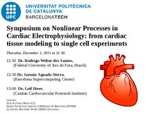 Symposium: Nonlinear Processes in Cardiac Electrophysiology: from cardiac tissue modeling to single cell experiments